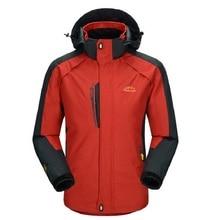 Men's Spring Autumn Hiking Jackets Ooudoor Sports Coats Male Waterproof Windproof Camping Trekking Climbing Brand Clothing