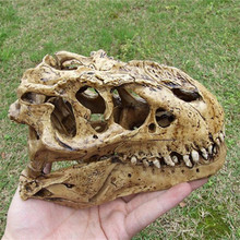 P-Flame 2016 Retro N 1/12 tyrannosaurus SCALE RESIN DINOSAUR SKULL MODEL COLLECTIBLE