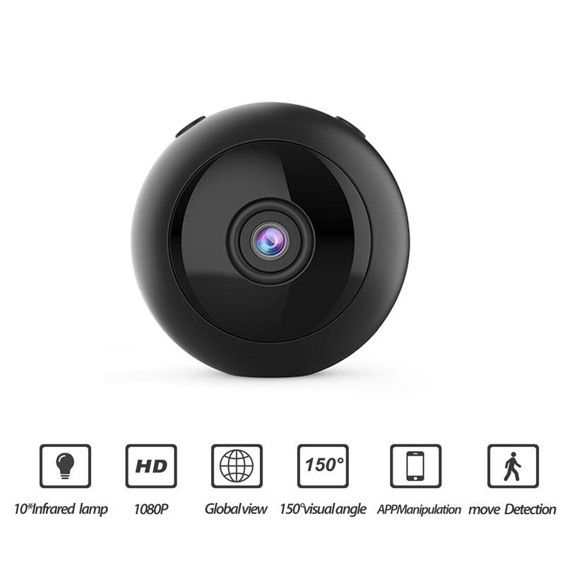 W8 Mini caméra Wifi Hd 1080p support magnétique 150 degrés grand Angle Vision nocturne détection de mouvement enregistreur Audio Dv Dvr Ip Camer