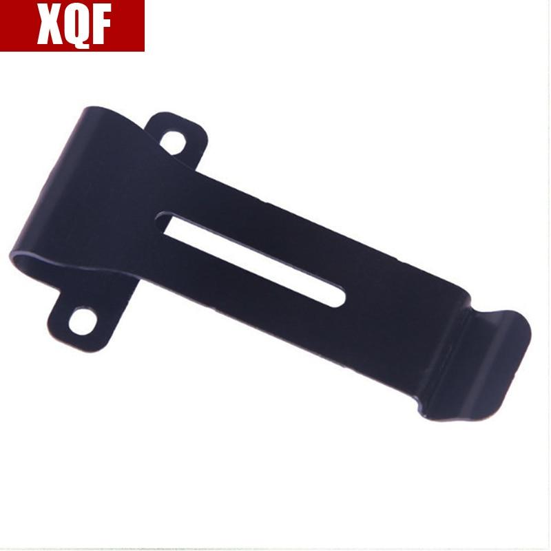 XQF 10PCS Universal Belt Clip Durability For KENWOOD TK3118 TK308 BAOFENG UV5R Two Way Radio