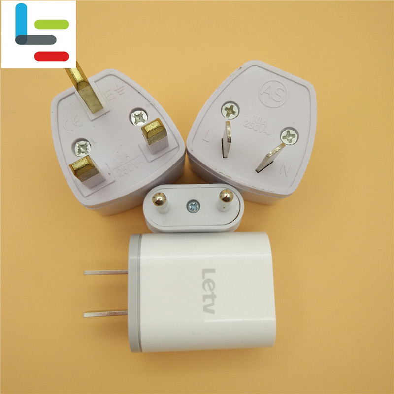 Original  LETV 5V 2A USB Wall  US Charger Adapter add  Free  EU AU UK Adapter For LETV LE 11S22 PROMAX 233SPro 3