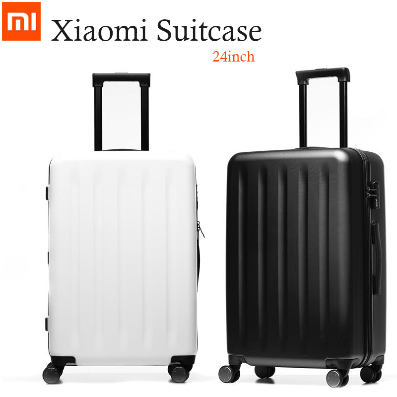 24 Inch Original Xiaomi Suitcases 90 FEN Spinner Wheel Luggage Suitcase 24 64L Trolley Cases carrier