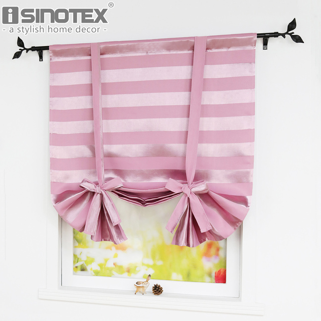 Roman Curtains For Windows Best Home Fashion Thermal Insulated Blackout Standard 46 63 Stripes Design 4 Colors