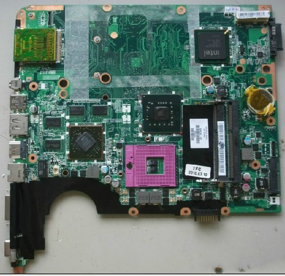 580972-001 Laptop motherboard For HP DV7 system motherboard,qulity goods laptop motherboard for hp 599523 001