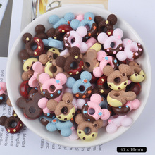 Doughnuts-Beads Slime Charms Making-Supplies Crafts Candy Mixed-Resin for DIY Scrapbooki