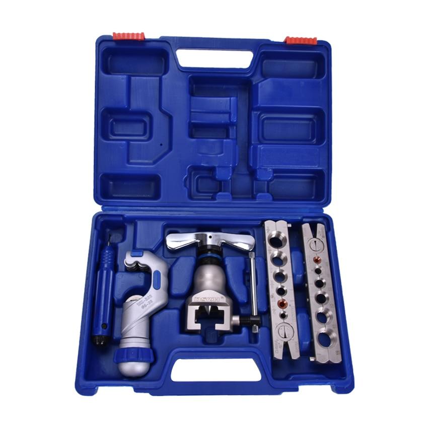 1set WK-806FT Copper tube flaring cutting tool kit,pipe flaring tool set Cutting knife suit for 5-32MM copper pipe furutech ft 806 r