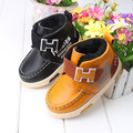 Hot Kids winter Rabbit Fur Snow Boots Children Warm shoes baby PU leather snow boots Children's sport sneakers boots size 21-30