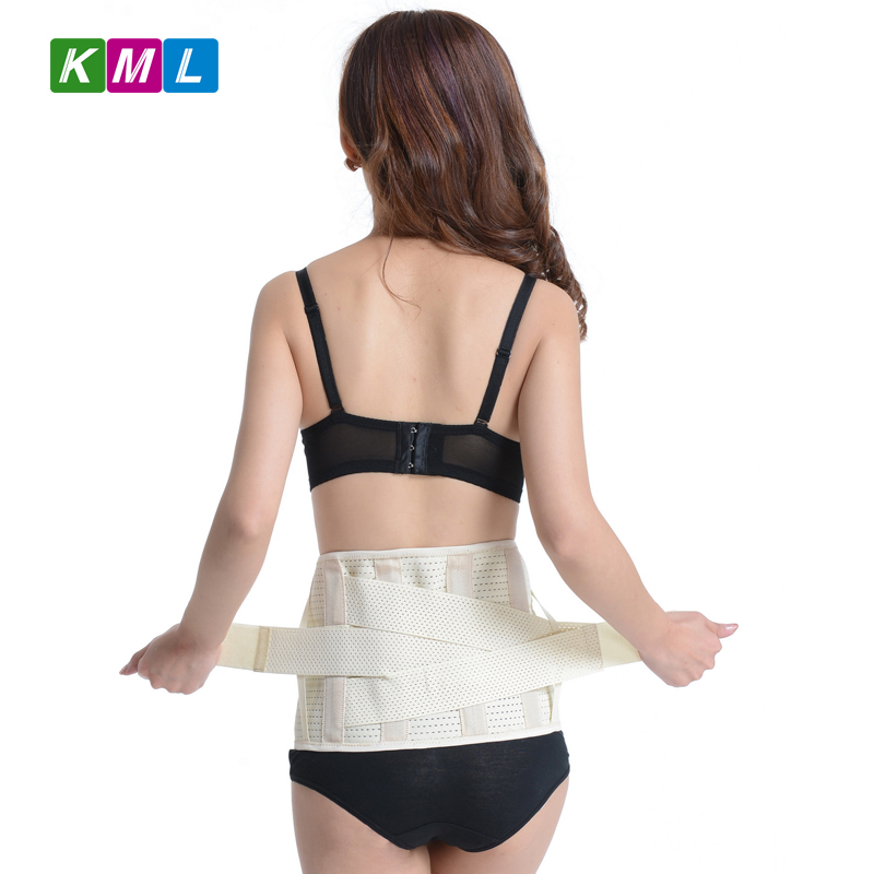 Lumbar Support Belt Back Braces Breathable Waist Treatment of Lumbar Disc Herniation Lumber Muscle Strain BB05 in Waist Support from Sports Entertainment