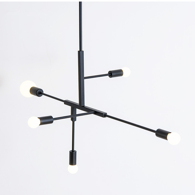 Nordic Creative Concise Art Style Dining Room Pendant Light Livingroom Bedroom Restaurant Cafe Decoration Lamp horn shape creative pendant light black white kung brand nordic led droplight globe branching nordic art style decoration