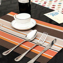 Mats Placemat Kitchen-Accessories Coaster-Pattern Dining-Table Waterproof Non-Slip-Pad