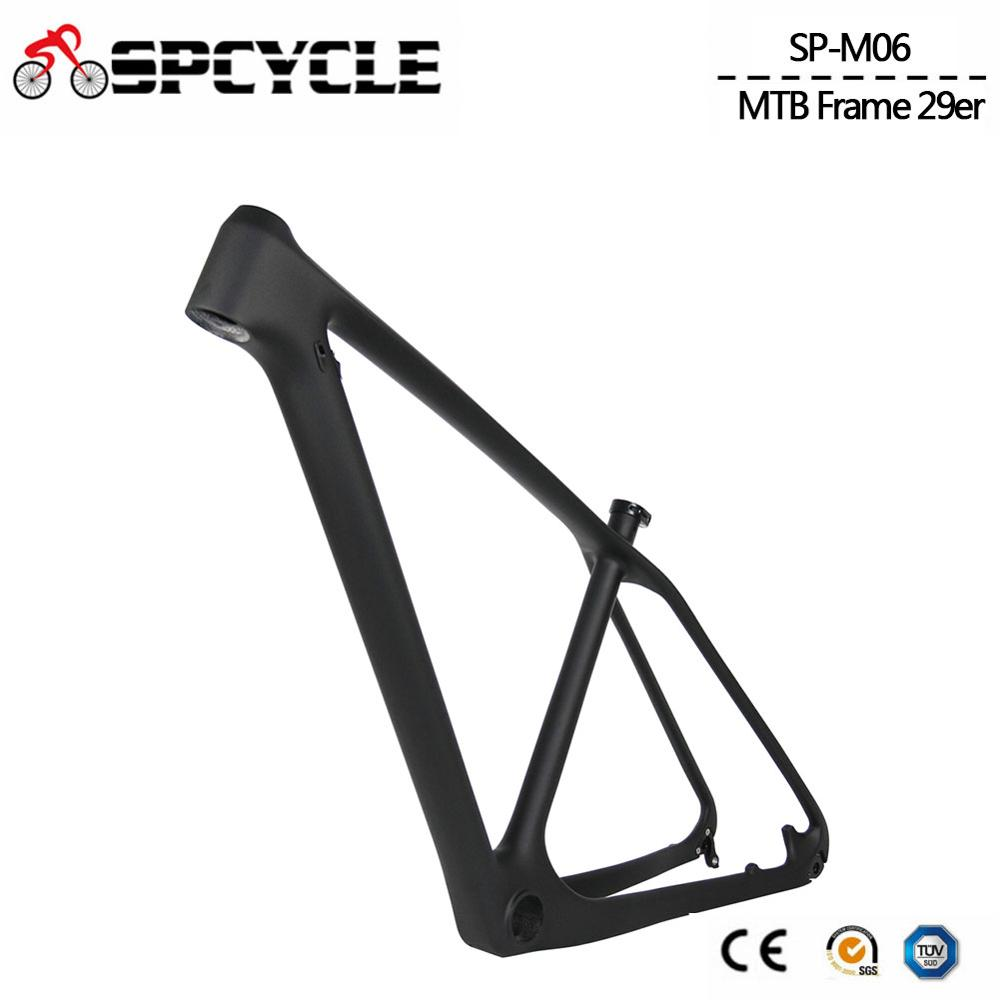 Spcycle 29er Carbon MTB Frame 27 5er Mountain Bike Carbon Frame 650B Ultralight Carbon Bicycle Frame