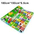 180*150*0.5cm Play Mat Baby Carpet Infant Children Playmat Mats For Kids Games Bebe Rug Floor Road Crawling Activity Soft Mat