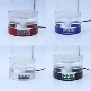 Image 5 - Freezemod Computer Waterkoeling Cilinder Water Tank OD60mm Met Thermometer 12V Rgb Synchrone Versie. YSX 6WDR21/26
