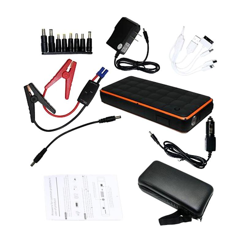 купить 2017 Car jump starter battery Emergency 12V power bank charger for car battery starting device Petrol 8.0L Diesel 6.0L Auto недорого