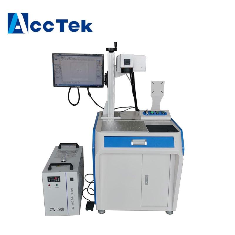 Portable Desktop Cnc Usb Manufacturer Supplier 10W Fiber Plastic 3W Uv IR Laser Marking Machine
