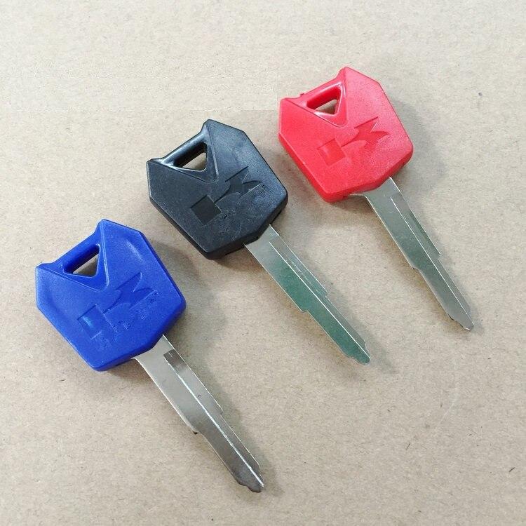 Motorcycle Blank Key Uncut Blade For Kawasaki ZX-6R ZX-9R ZX-10R ZZR250 ZXR400 ZZR400 ZZR600 ER-6N ER6F