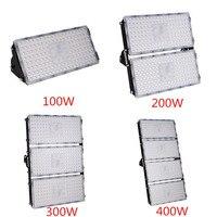 6Pcs Module LED Flood Light 100W 200W 300W 400W 110V 220V SMD 2835 Waterproof LED Outdoor