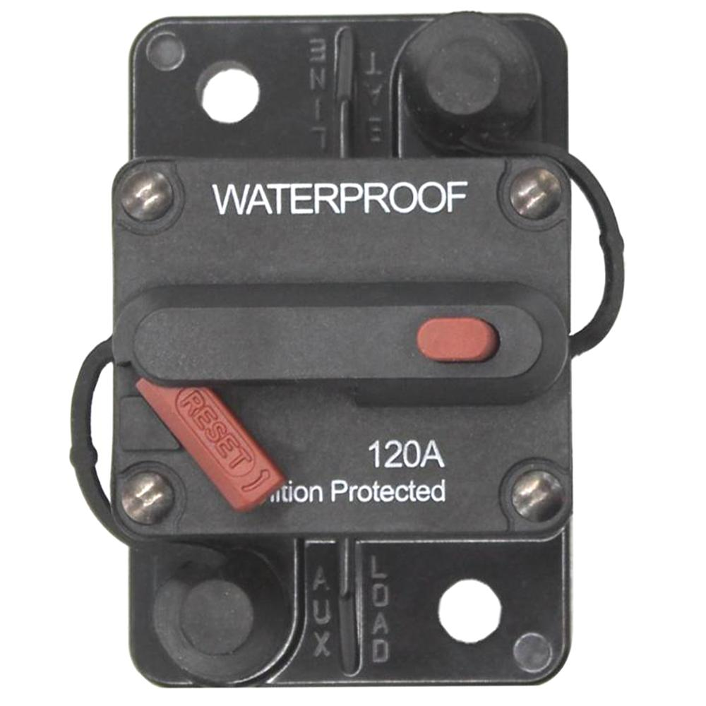 200A Circuit Breaker Manual Reset Switch Overcurrent Protect For Car Ship Yacht