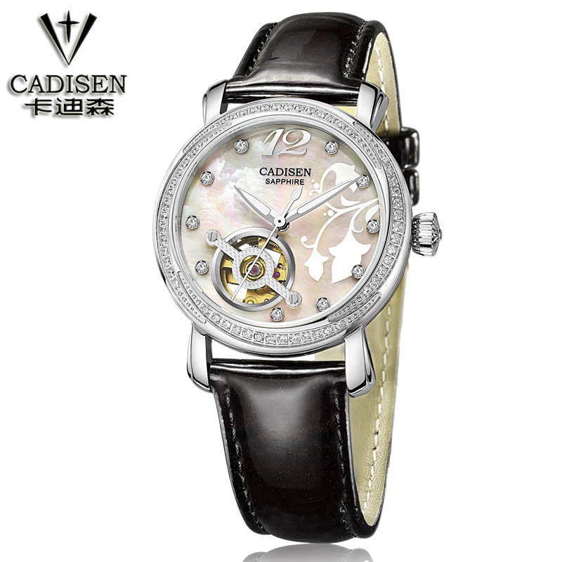 Fashion Brand Winner Leather Band Women Skeleton Automatic Mechanical Watch Women Dress Diamond Mechanical Wrist Watch hot sale inkjet printer machine 50meter 4 line 5mm 3mm solvent ink tube for infiniti pheaton sid roland mimaki mutoh