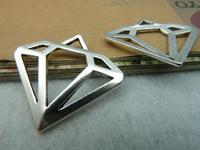 DIY accesorios al por mayor Diy accesorios hechos a mano de época antigua de plata diamante c2671 28 30mm 10 5.5 el envío libre