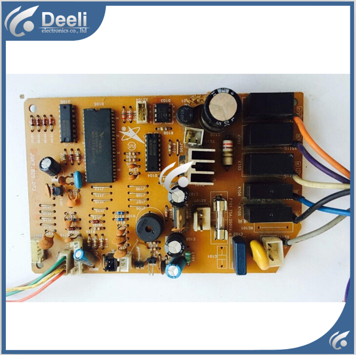 95% new good working for air conditioning motherboard Computer board JUK7.820.073 board good working