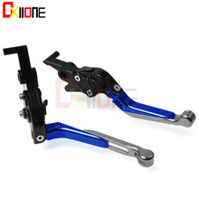 Universal CNC accessories aluminum adjustable Motorcycle brake clutch levers For Honda XL600 XL 600 LMF 1985-1986
