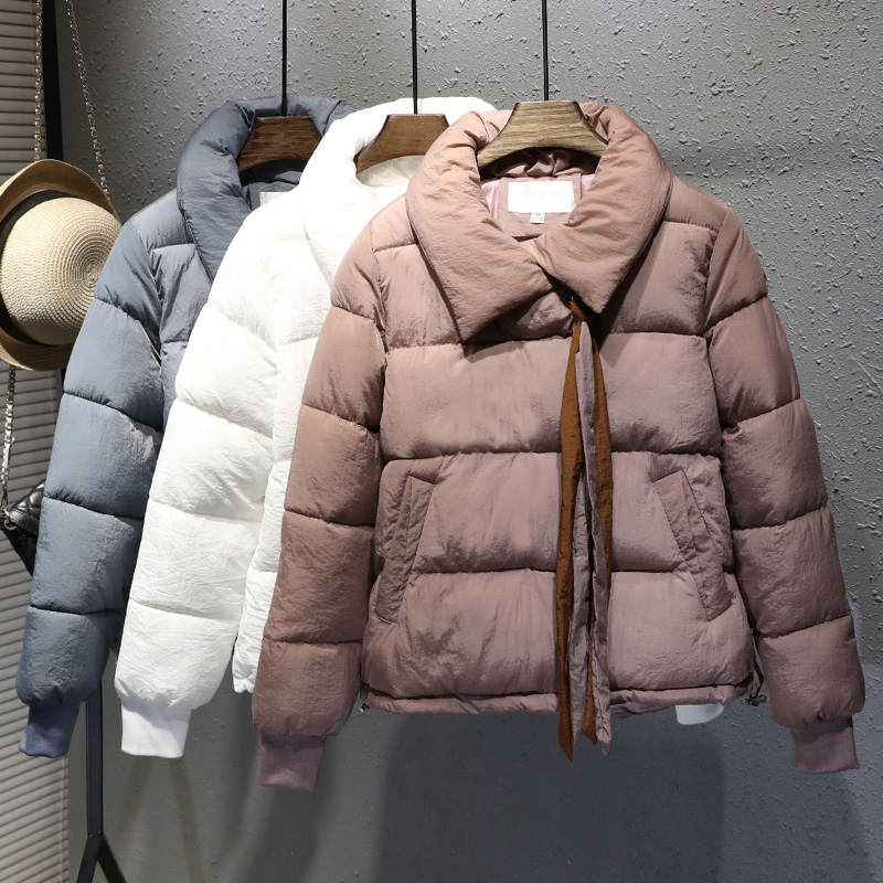 Plus Size XXXL Short Cotton Coat Women Harajuku Style Winter Jacket Women Chaqueta Mujer Bread Coat Cotton Jacket Parka C4900