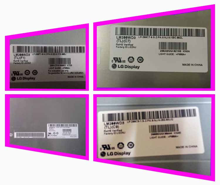 100% original new LM200WD3-TLC7 TLC9 TLA1 TLF1 original LG LCD machine screen One year warranty new original 185095c 02 for national instruments sh100 100 f shielded flex cable 2m well tested working one year warranty