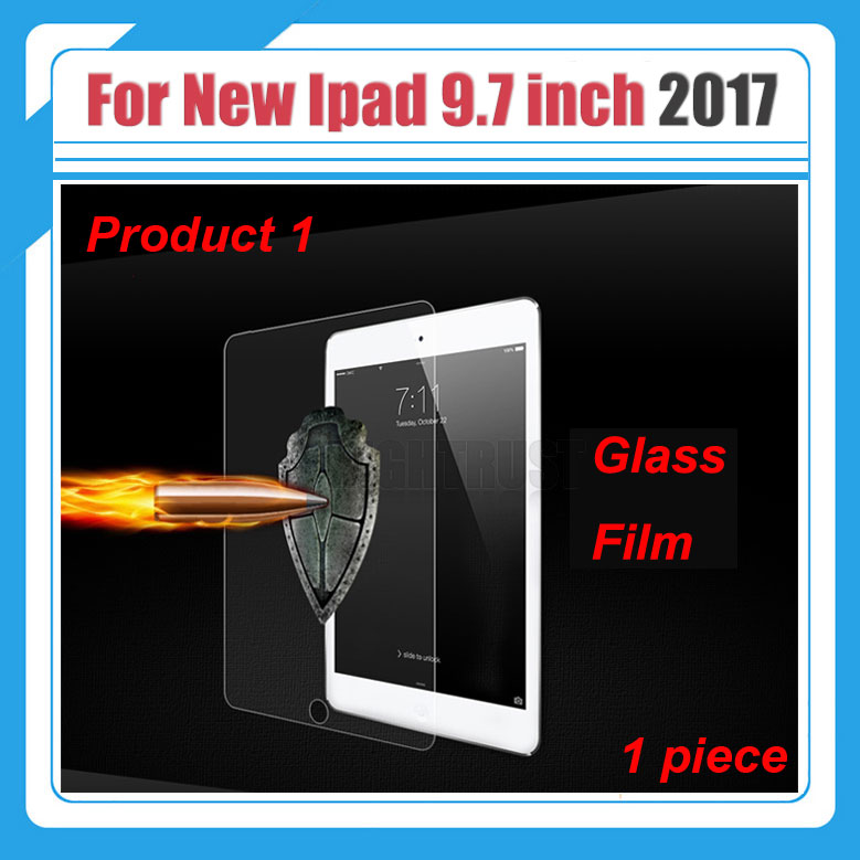 9H Explosion-Proof Tempered Glass Film for Apple Ipad 9.7 2017 A1822 A1823 9.7 inch Tablet Screen Protector Film