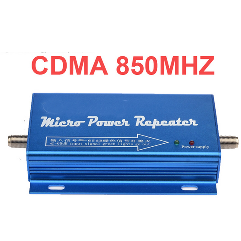 Gain 65dbi 960 Easy Use Model Cdma Repeater Cdma Booster 20dbm Power Phone Booster Repeater CDMA 800mhz Repeater Booster