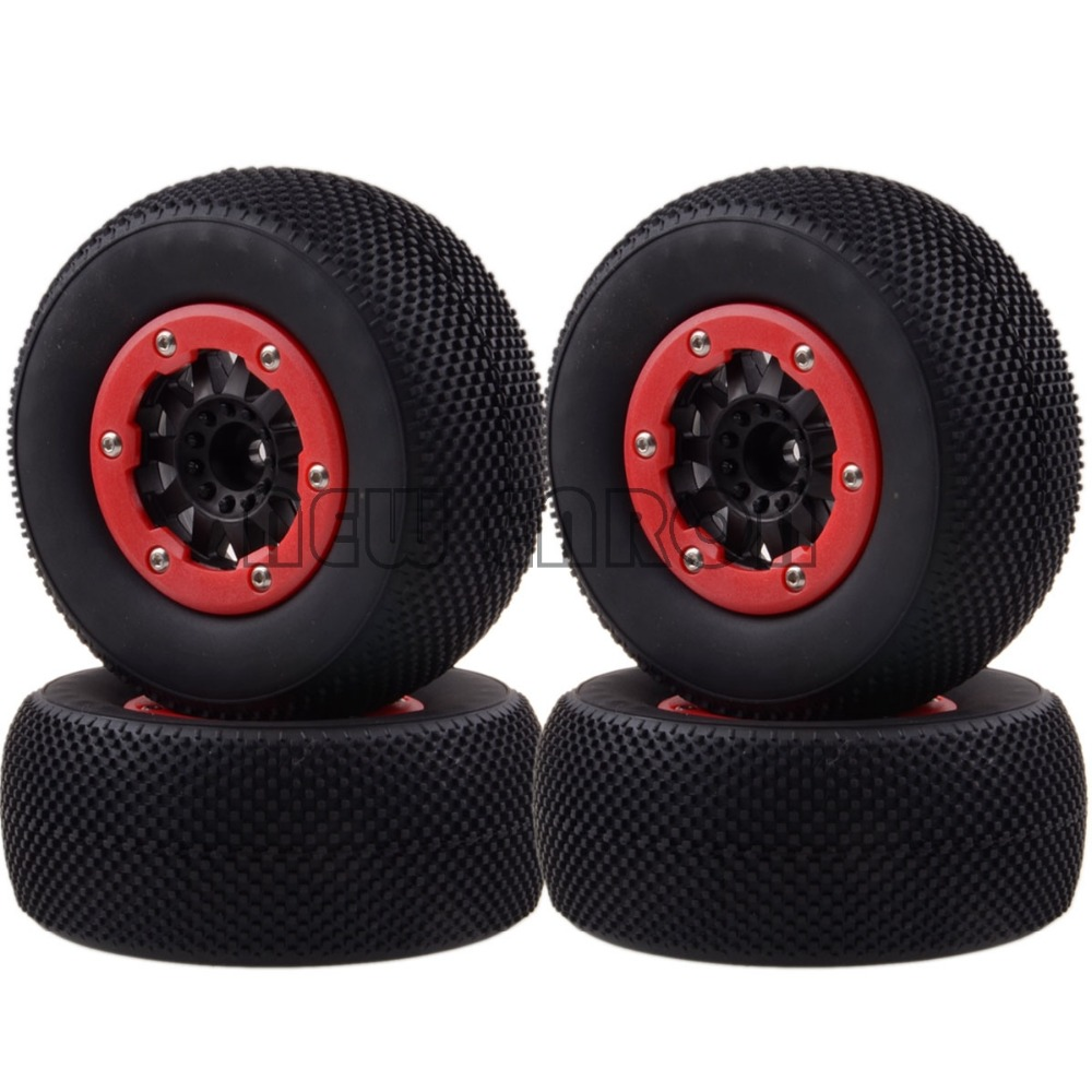 4x 12MM Hub Wheel Rim & Tyres,Tires 1182-16 Fit RC 1/10 Traxxas Slash 4x4 Racing 100% natural latex gloves high quality 40cm lengthened red clean work gloves oil resistant acid and alkali protective gloves