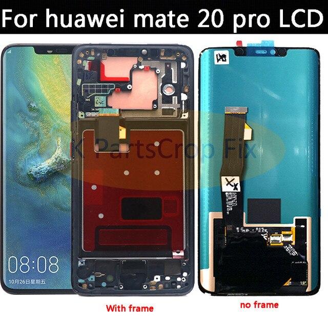 "6,39 ""para Huawei Mate 20 Pro pantalla LCD Digitalizador de pantalla táctil de reemplazo de partes para Huawei Mate20 Pro amigo 20 Pro LCD pantalla"