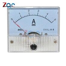 5A аналоговые Панель усилитель тока Амперметр измерительный прибор тестер 85C1-A 85C1 0-5A