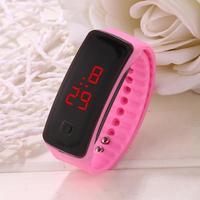 fanala часы для мужчин модные квадратной пряжкой унисекс светодиодный цифровой спортивные наручные часы для мужчин Relogio мужчина для