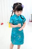 Floral Baby Qipao Girl Dresses Kid Chinese Style Chi Pao Cheongsam New Year Gift Children S