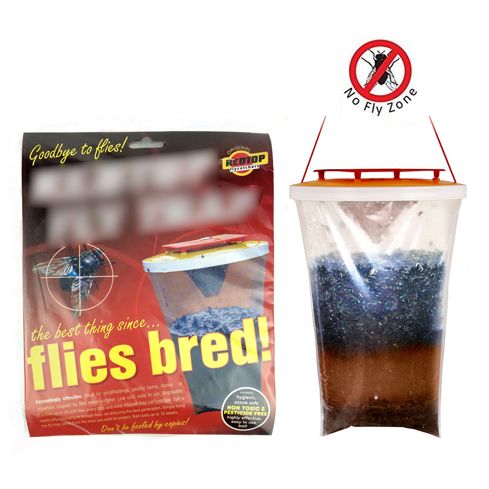 Home Fly Trap Flycatcher Top Catcher Flies Killer Red Drosophila Top Catcher The Ultimate Fly Catcher Insect Bug Killer