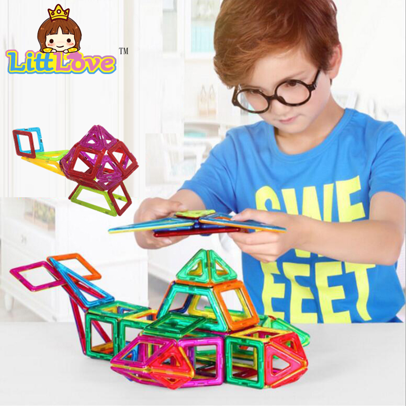 Mini 47PCS Magnetic Designer Construction Building Blocks Kids Toys Educational Plastic Bricks Technic Assembly Enlighten Toys kids toys magnetic bricks magformers designer educational toys wheel parts construction building blocks plaything toys