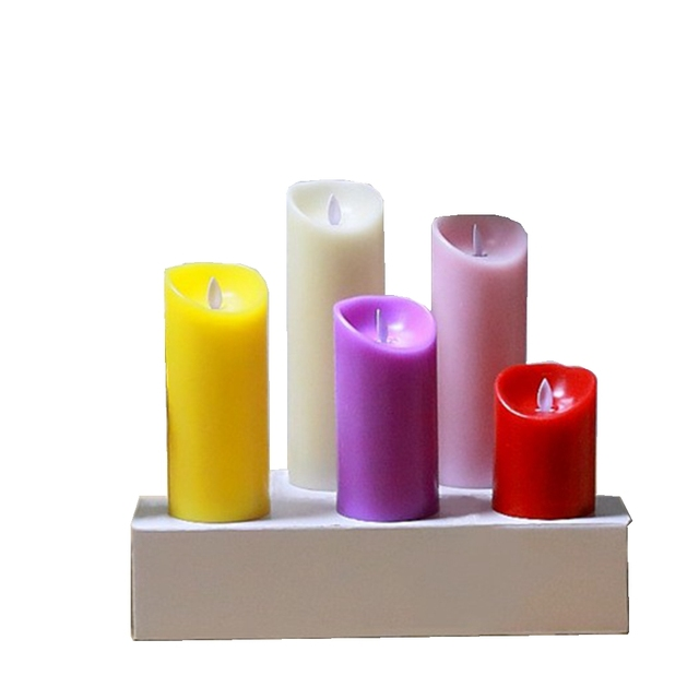 Aliexpress.com : Buy LED Candle Light, Battery Powered Flame Wax ...