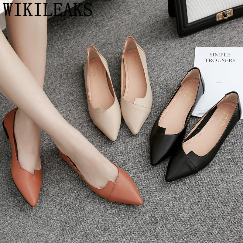 Designers Comfort Pointed Toe Flats