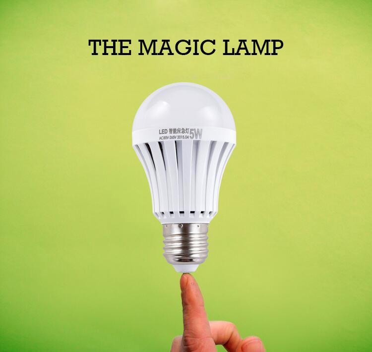 E27 LED Emergency Light Household Rechargeable Amazing Intelligent Light 5W7W9W Power Energy-saving Lamp Outdoor Lighting Bulb intelligent household appliance energy saving equipment power saver white red us plug