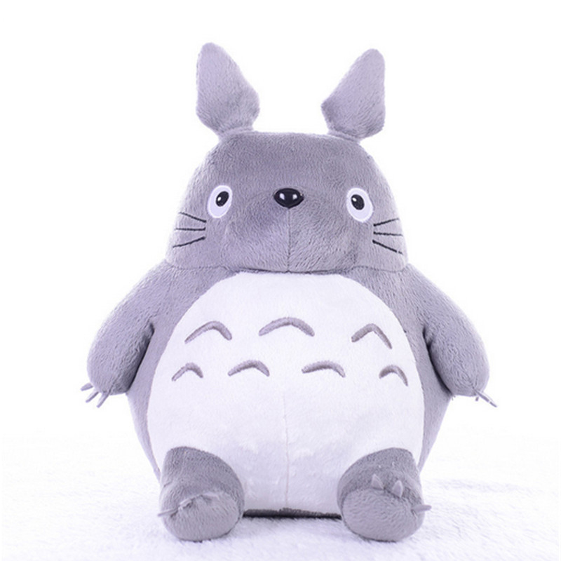 Fancytrader New Pop Cute Giant Totoro Plush Toy Hobbies  Rare Cartoon Stuffed Cat Totoro Grey Anime Doll 65cm fancytrader new style giant plush stuffed kids toys lovely rubber duck 39 100cm yellow rubber duck free shipping ft90122