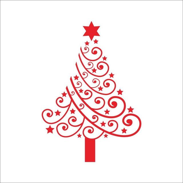 Frohe Weihnachten Aufkleber.Us 3 47 30 Off Keythemelife Frohe Weihnachten Pvc Wand Aufkleber Fenster Aufkleber Fliesen Aufkleber Glas Wasserdichte Tapete Weihnachten Baum Decor