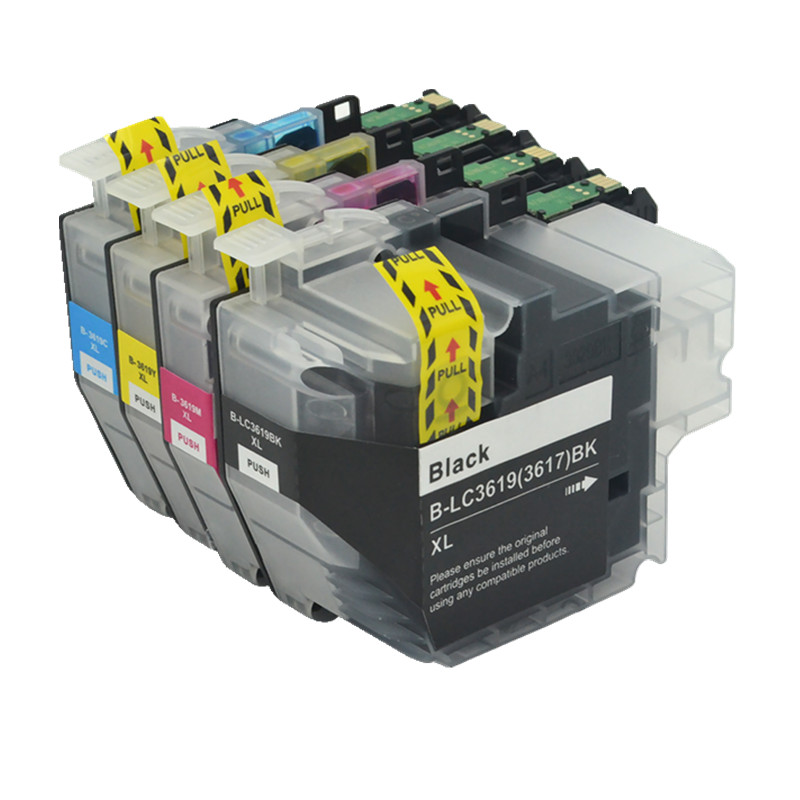 4X Compatible ink cartridge LC3619XL LC3617XL LC3619 LC3617 for Brother MFC J2330DW MFC J2730DW MFC J3530DW
