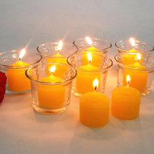 Flower scented candles romantic glass cup + candles wedding party decor  home decoration Repellent and Anti-mosquito candles