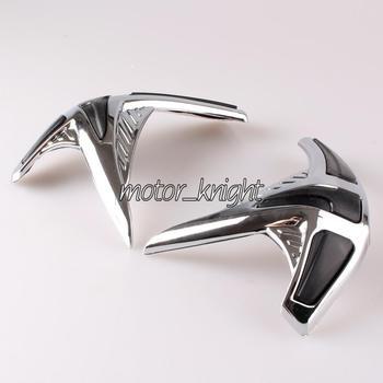 Goldwing Chrome Fairing Front Scuff Protectors Fit Honda  GL1800 2001-2011