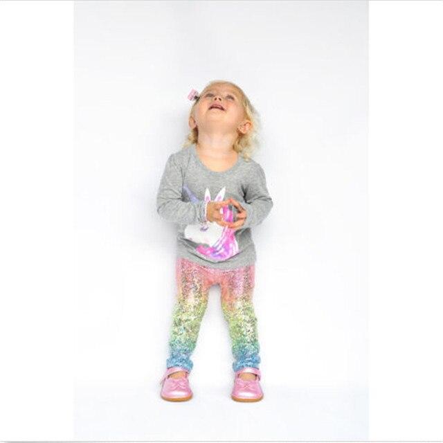 Girl pants new arrive sequin girls leggings Toddler Leggings 1-6Y baby girls leggings kids leggings 1
