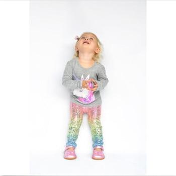 Sequin Girls Toddler Leggings