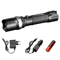 Brand YAGE 336C CREE XP E LED Flashlight Aluminum Waterproof Zoomable Self Defense Torch Light With1