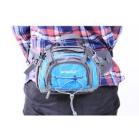 Nylon Waterproof Cross Body Bag For Men Women Small Casual Multi Functional Trekking Waist Bag Solid