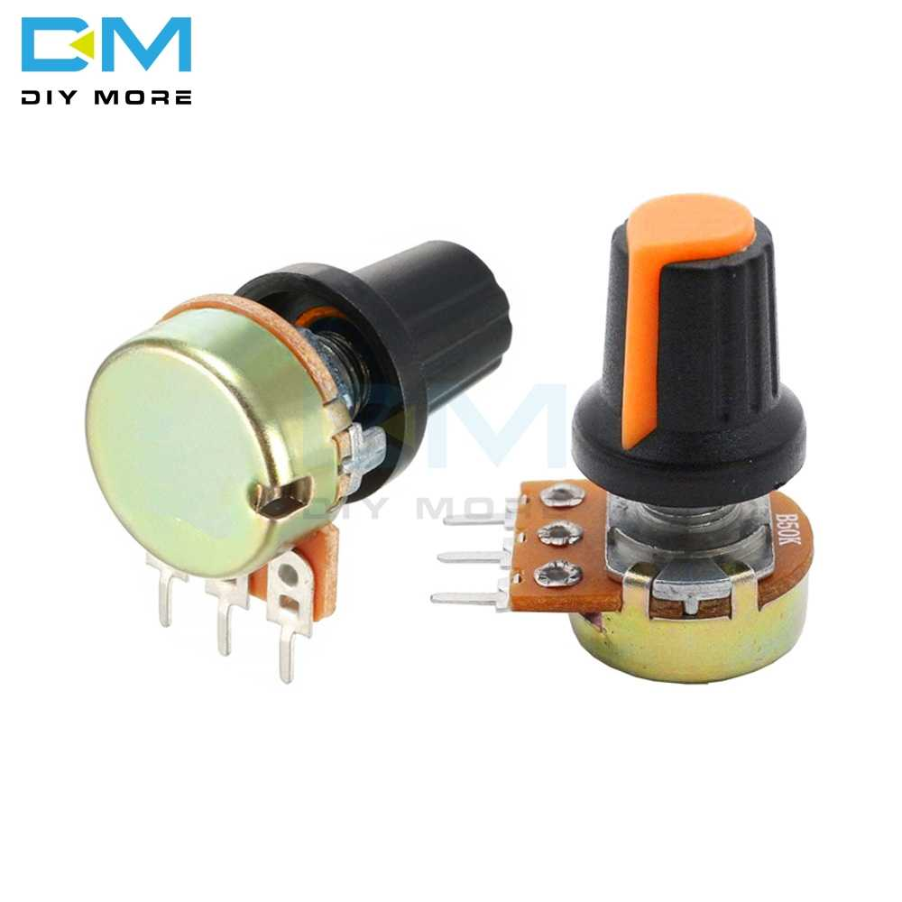 5PCS Diymore WH148 AG2 A-2 With Cap Linear Taper Rotary Potentiometer 1K 2K 3K 5K B10K 20K 30K 50K 100K 200K 300K 500K 1M Ohm